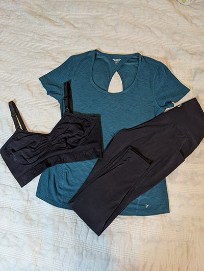 Postpartum Workout Top