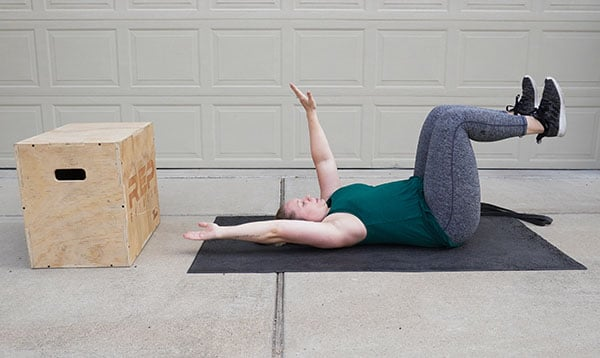 core stabilizing exercise after pregnancy