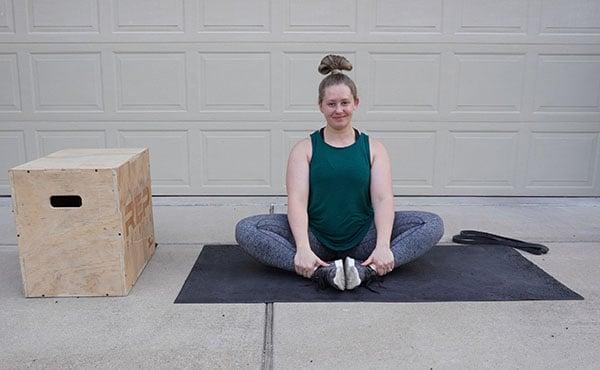 yoga stretch for after birth