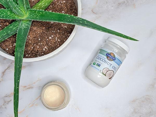 coconut oil diaper cream